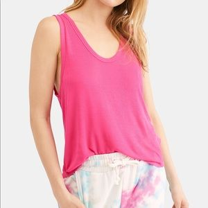 NWT We The Free by Free People Tank, Pink Size L